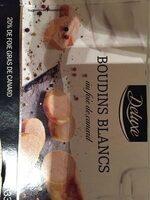 Boudin blanc deluxe foie gras - Produit - fr