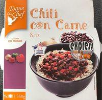 Chili con Carne & Riz - Produit