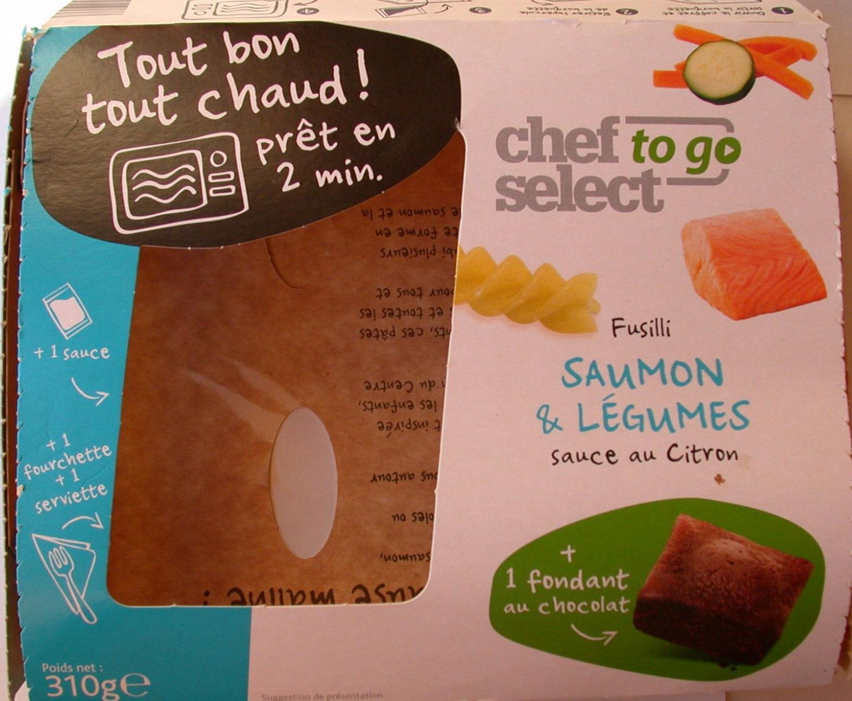 Fusilli saumon & légumes sauce au Citron - Product