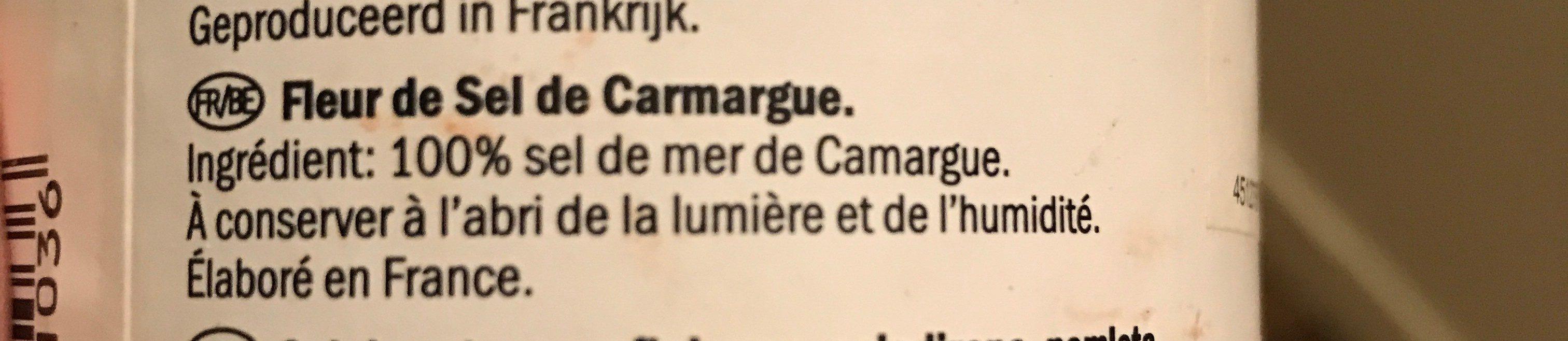 Fleur De Sel de Camargue - Ingrédients - fr