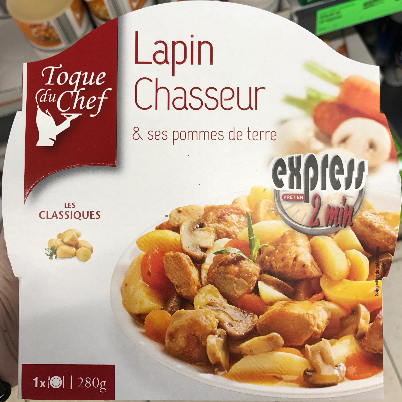 Lapin Chasseur & ses pommes de terre - Produit - fr