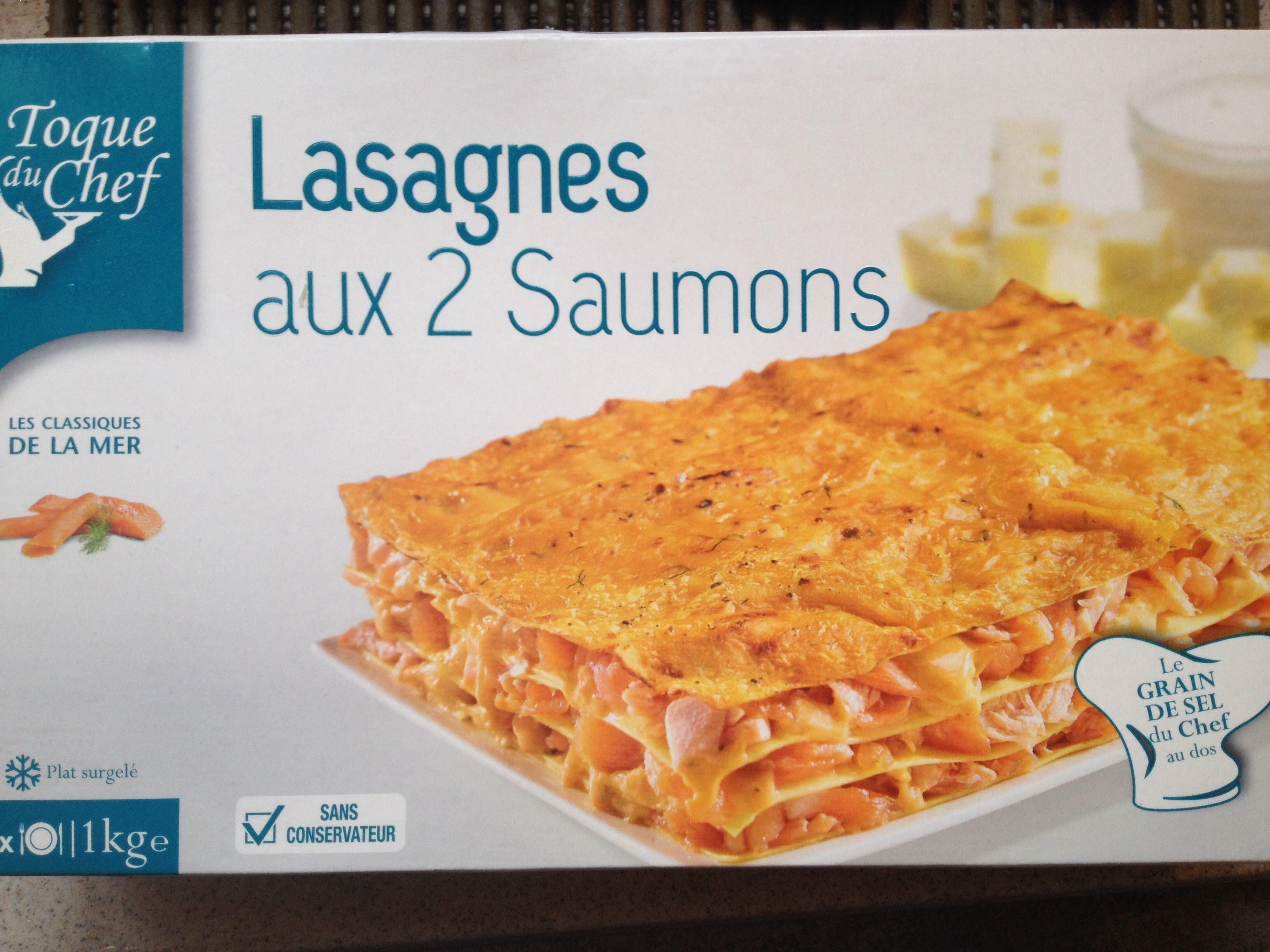 Lasagnes aux 2 Saumons - Produit - fr