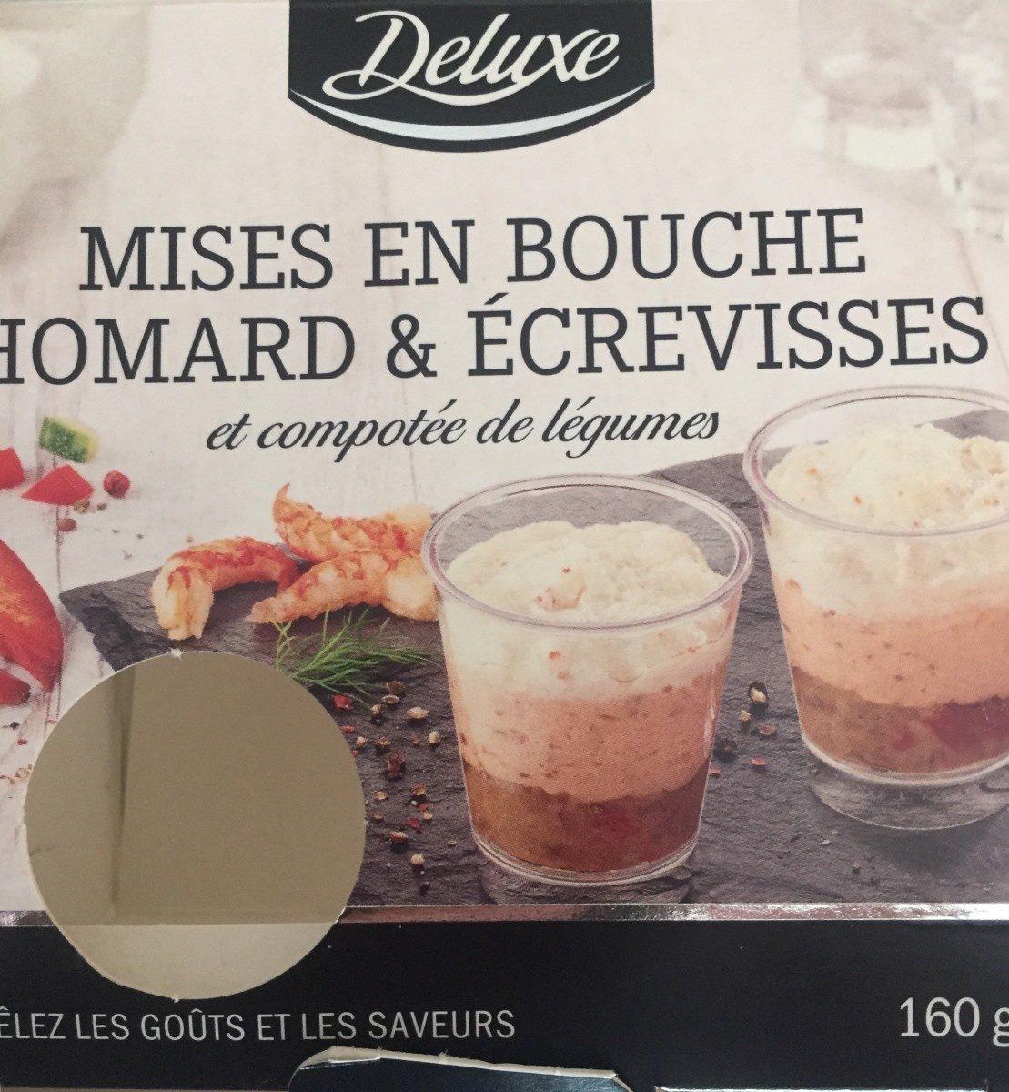 Mises en bouche homard et écrevisses et compotée de legumes - Product