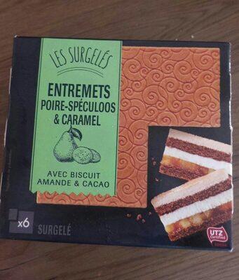 Gâteau Surgelé Poire-Speculoos - Produit