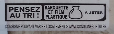 Blanc de poulet fumé - Recycling instructions and/or packaging information - en