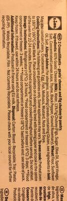 Croustillant - Ingrédients