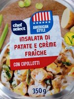 Insalata di patate e crème fraiche con cipollotti - Produkt - de