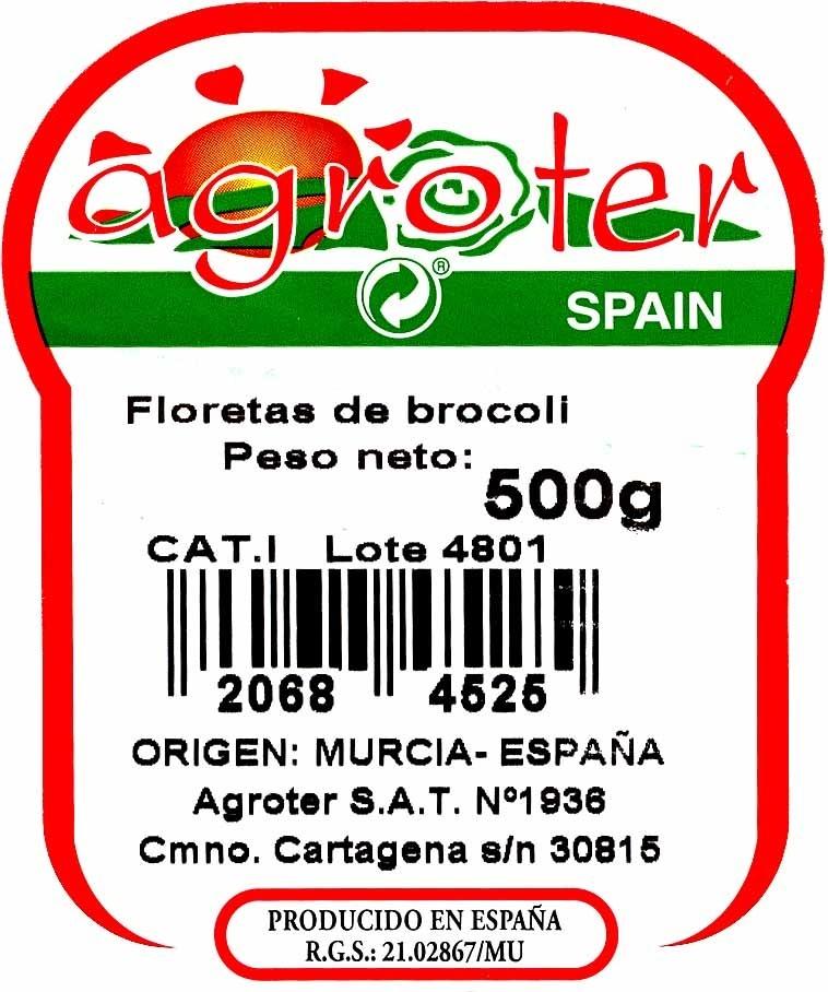 Floretes de brócoli - Ingredients - es