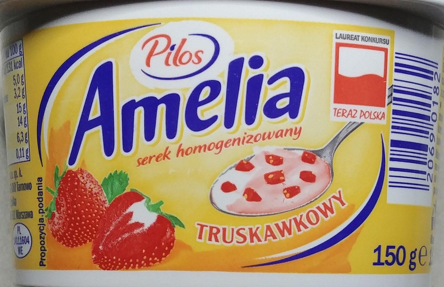 Serek homogenizowany truskawkowy - Produkt - pl