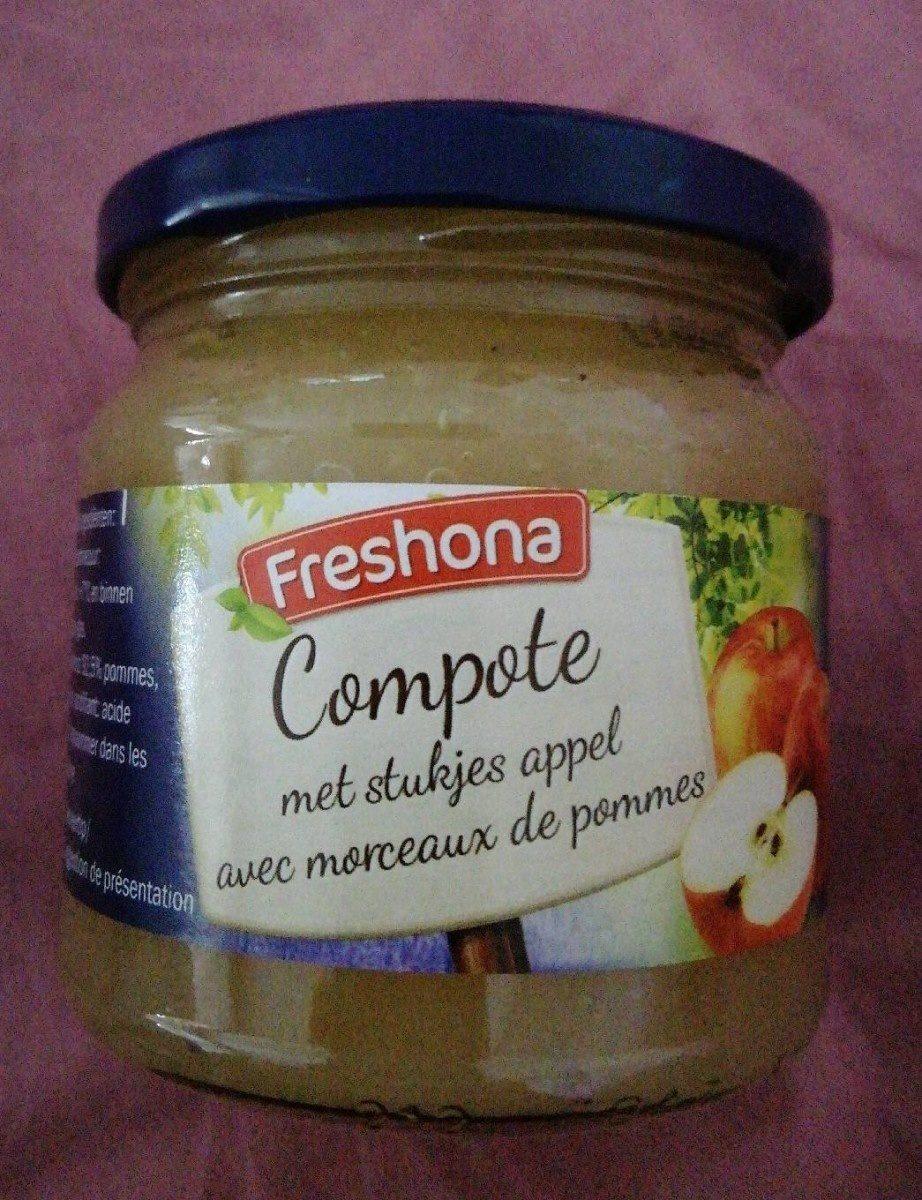 Compote de pommes morceaux - Product - fr