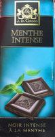 Chocolat noir intense à la menthe - Product - fr