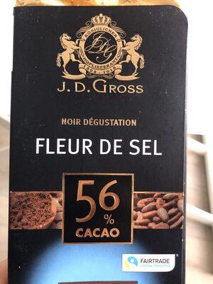 Chocolat noir à la pointe de sel - Produkt - fr