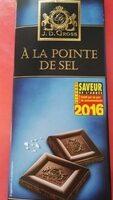Chocolat noir à la pointe de sel - Product - fr