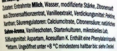 Skyr Vanille - Ingrediënten - de