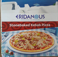 stonebaked kebab pizza - Product