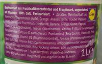 Jus multivitaminé - Ingredients - fr