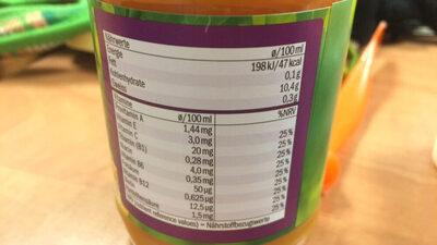 Multivitamin - Informations nutritionnelles