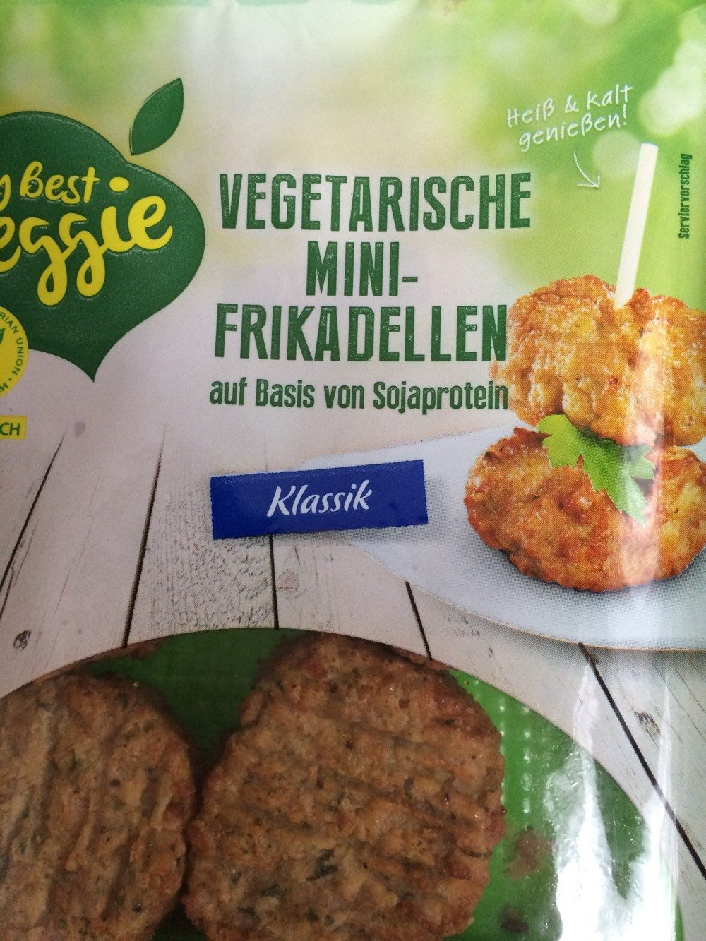 Vegetarische Mini-Frikadellen Klassik - Product - de