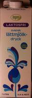 Ängens Laktosfri svensk lättmjölkdryck - Produit