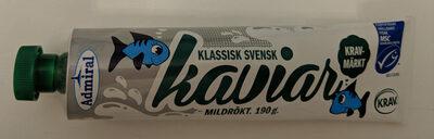 Klassisk Svensk Kaviar Mildrökt - Product