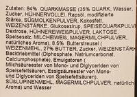 Käsekuchen hoch halb - Ingredients