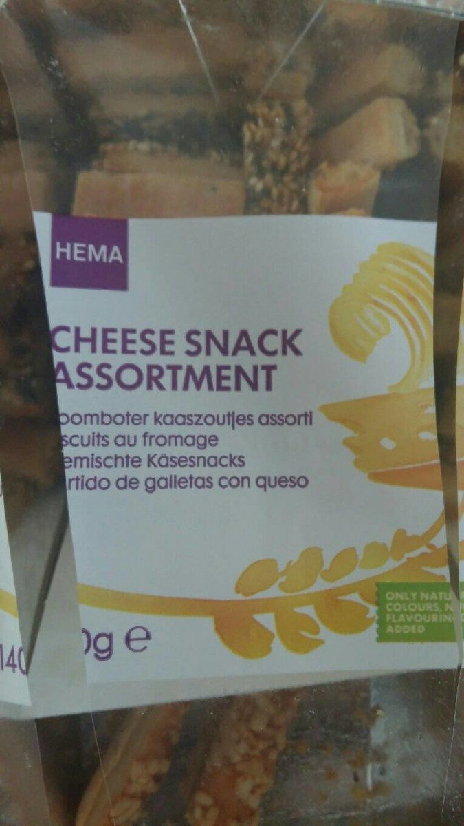 Cheese snack assortiment - Product
