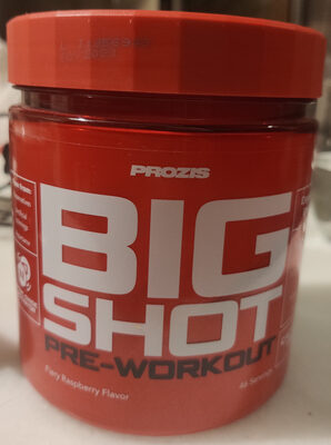Big Shot Pre Workout - Produit - es