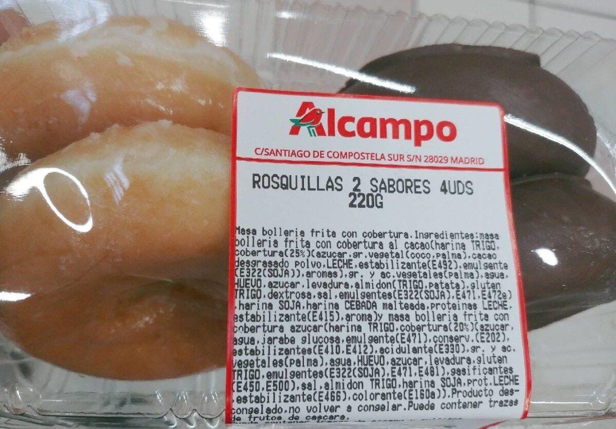 Rosquillas 2 sabores - Product - es