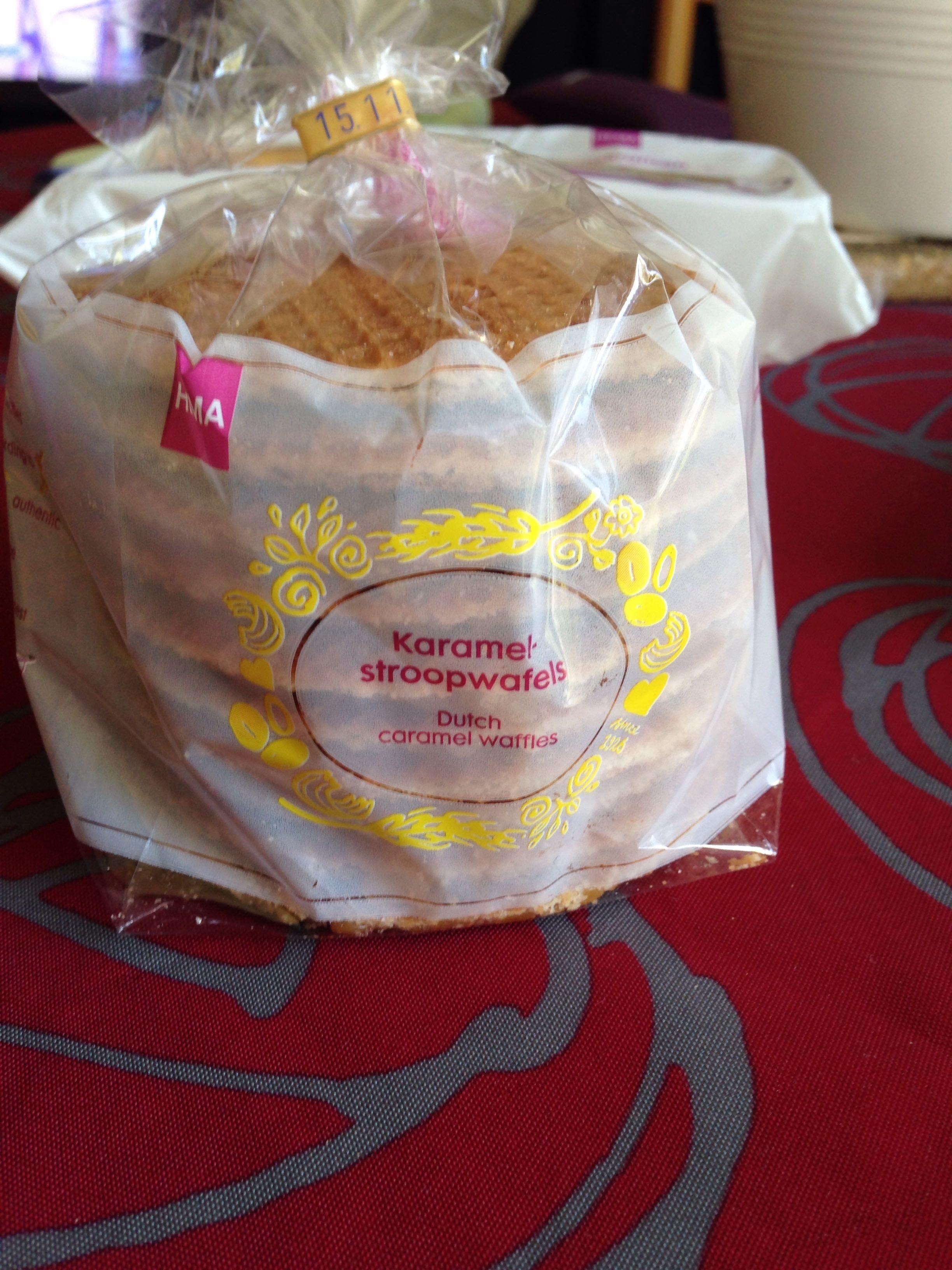 Gauffres Hollandaises au beurre caramel - Producto - fr