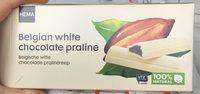 Barre de chocolat blanc praline - Product