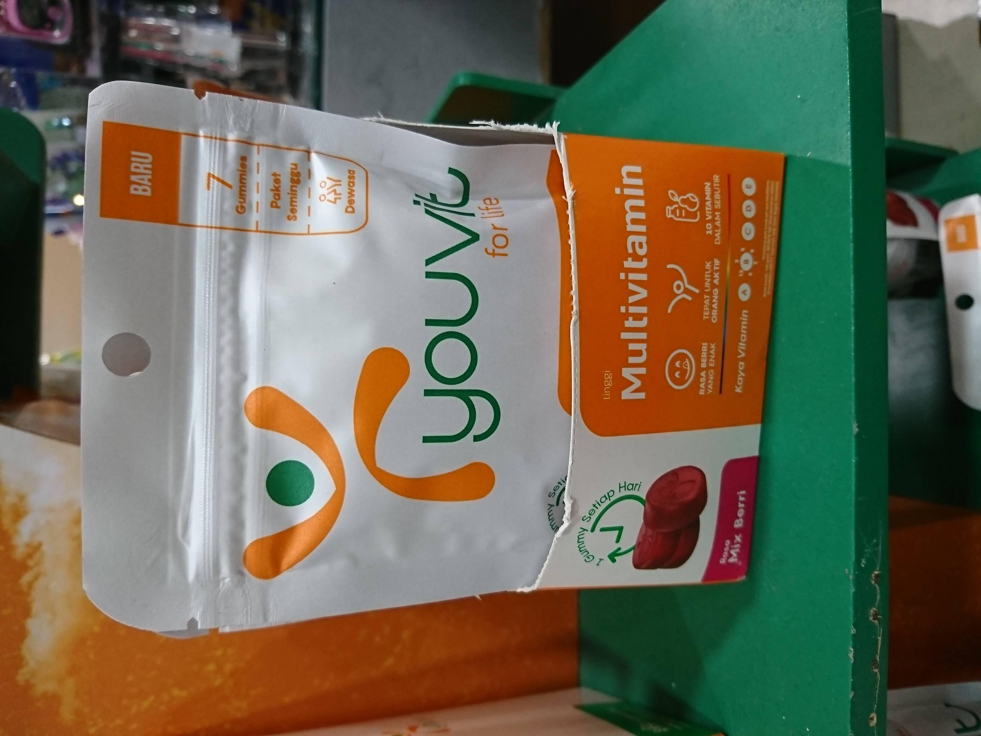 Youvit Multivitamin Gum Dewasa - Produk - en