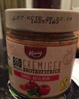 Bio tomato basil spread, my best veggie - Product - de