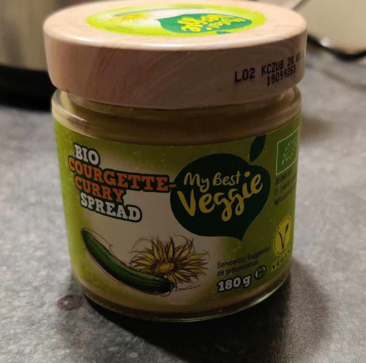 Bio courgette-curry spread - Prodotto - de