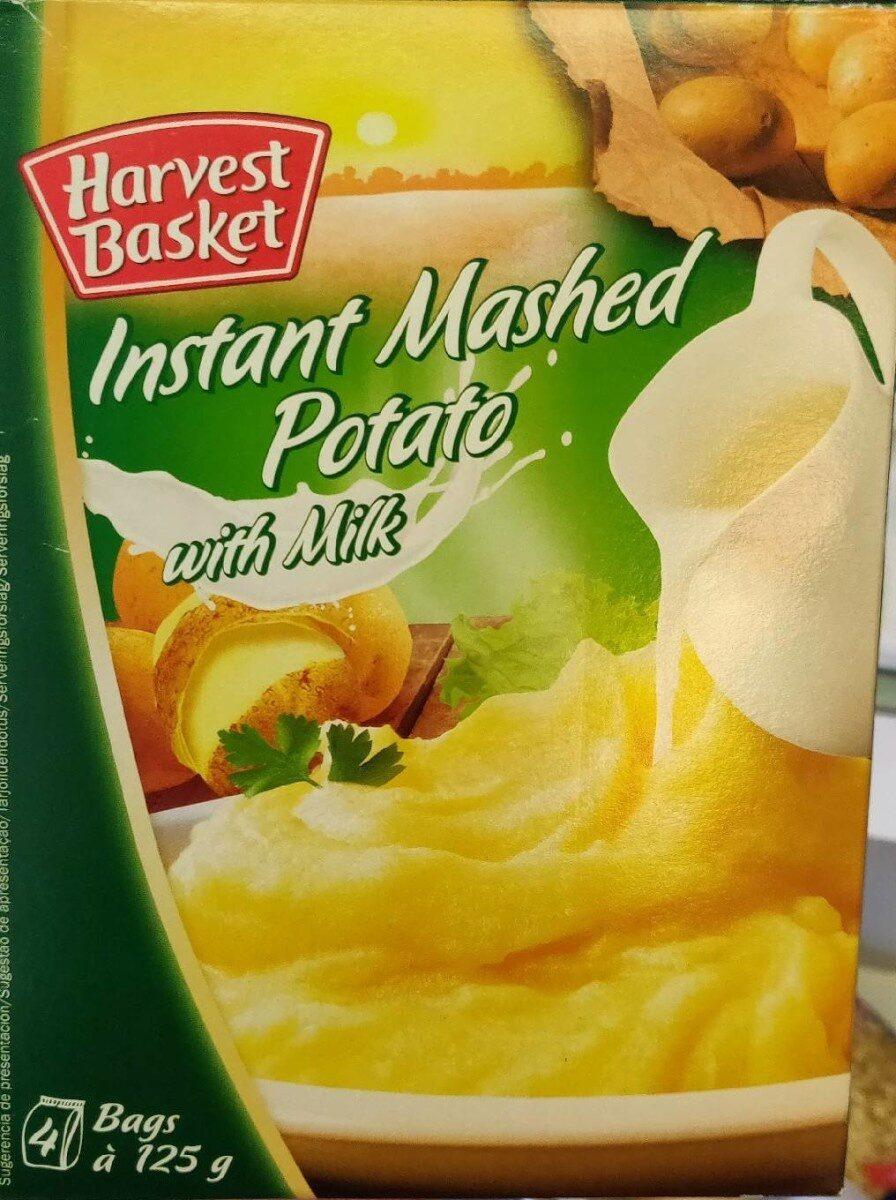 Harvest Basket Instant Mashed Potato with Milk - Produit - fr