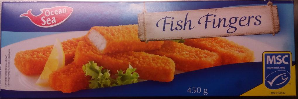 Fish fingers bâtonnets de poisson - Product