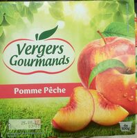 Compote Pomme Pêche - Product - fr
