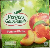 Compote pomme peche - Producto