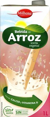 Bebida de arroz - Producto
