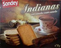 Galletas Indianas con canela - Produkt - es