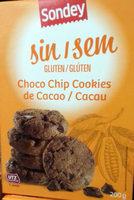 Choco Chip Cookies de cacao sin gluten - Producto