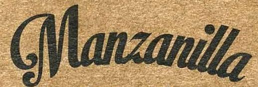 Manzanilla - Ingrédients - es