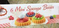 6 Mini Sponge Bases - Prodotto - fr