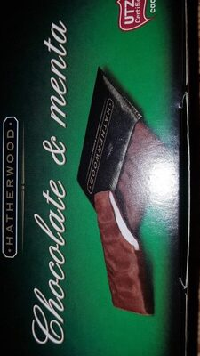 Chocolate de menta - Product - fr