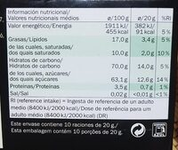 Mint Chocolate - Informations nutritionnelles - fr