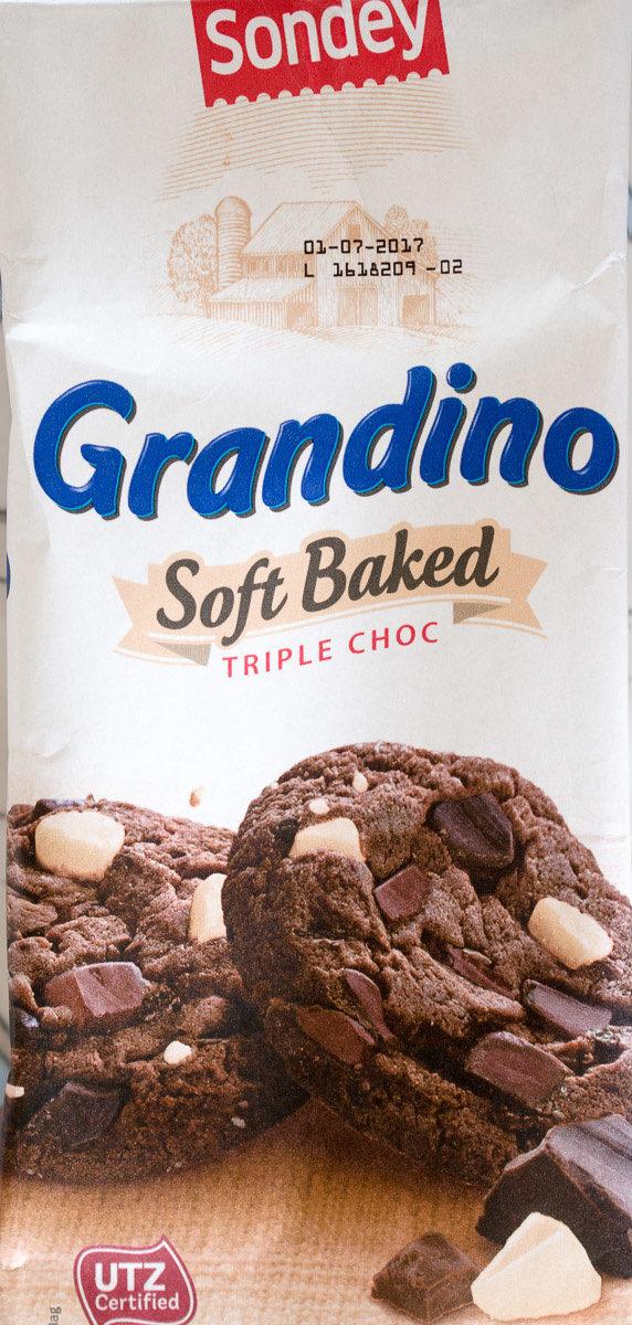 Grandino Soft Baked Triple Choc - Product