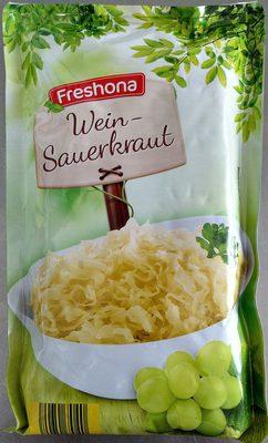 Freshona Wein sauerkraut - Product