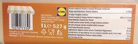 Premium Salted Caramel - Wartości odżywcze - pl