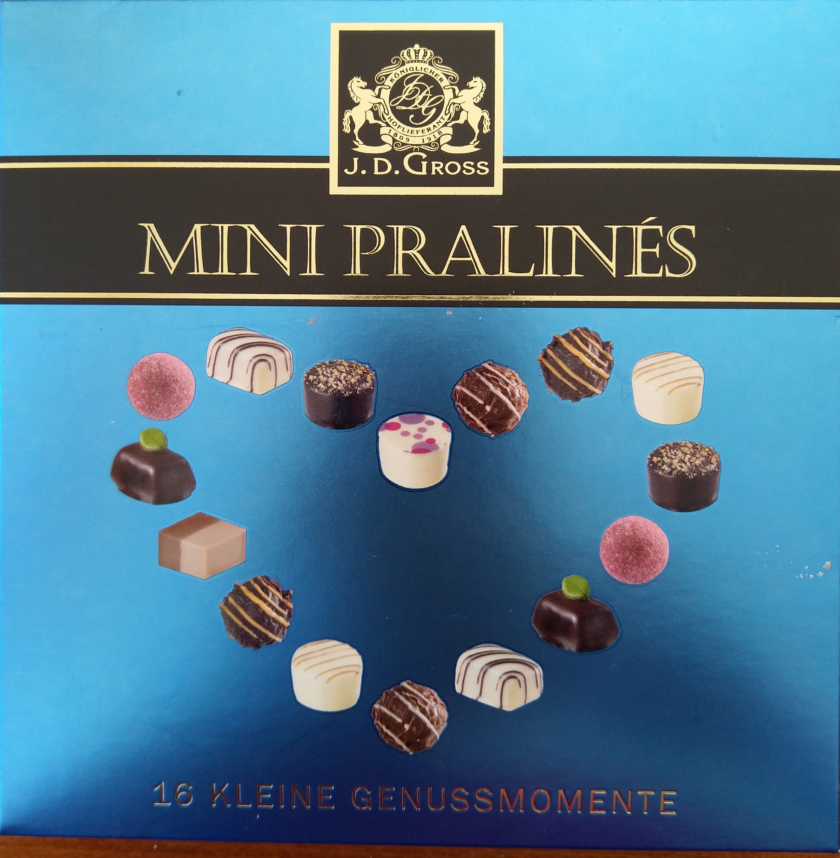 Mini Pralinés - Product