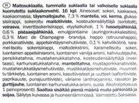 Mini Pralines - Ainesosat - fi