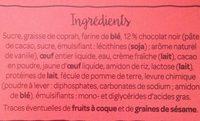 Fondant au Chocolat et son Cœur Coulant - Ingredientes
